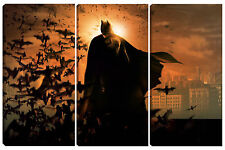 Quadro moderno amazing BATMAN 95X150 pipistrello supereroe cinema new york joker
