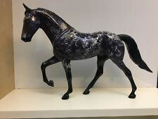 Charoite - Peter Stone Model Horse - Tennessee Walking Horse - Precious Stones