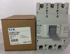 Eaton Moeller 200A Amps 25kA Triple Pole MCCB 3P BZMB2-A200 LZMB NZMB