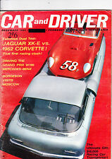 CAR and DRIVER magazine (US) - December 1961 - fascinating