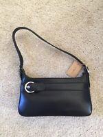 brandy melville faux leather black shoulder bag NWT one size