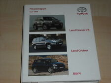 57642) Toyota Land Cruiser - V8 - RAV 4 Pressemappe 04/2008