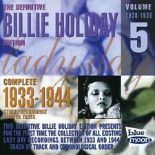 Billie Holiday /THE COMPLETE 1933-1944 STUDIO RECORDINGS-MASTER TAKES - VOL....