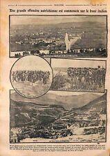 Battle of Isonzo/Soča Road Rovereto Trentino Lagarina Valley Italy WWI 1916