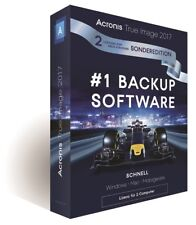 Acronis True Image 2017 / 2018* 2-PC - Backup - Windows / MAC / Android  -  Box