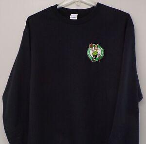 NBA Basketball Boston Celtics Logo Crewneck Sweatshirt S-5XL, LT-4XLT New