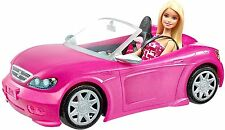 Barbie Convertible and Doll Pack New Damage Package
