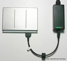 External Laptop Battery Charger for Apple Macbook Pro 17in A1151, A1189, MA458