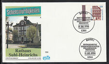 A-101)  Germany FDC 1994:  - Town Hall Suhl-Henry of  beautiful FDC