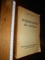 LIBRO:INTRODUZIONE ALLA SOCIOLOGIA. Leclercq Jacques. 1955