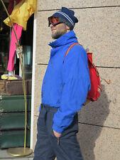 Skimütze Wintermütze Strickmütze Mütze 90er True Vintage 90s knitted hat blau