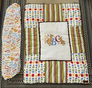 Dr Seuss By Trend Lab ABC Toddler Blanket And Fitted Sheet NURSERY