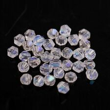 4mm Czech Glass Faceted Round Fire Polished Beads 15+ Colours x 200 Beads