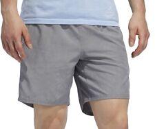 adidas Saturday HD 5 Inch Mens Running Shorts - Grey