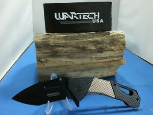 """Wartech YC-S-7017-Tan Spring Assisted Pocket Knife 8.25"""""""