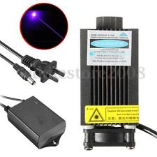Adjustable 500mw 405nm Focal Blue-Violet Industrial Engraving Laser Module 12V