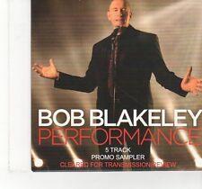 (FT947) Bob Blakeley, Perforrmance (Album Sampler) - 2014 DJ CD