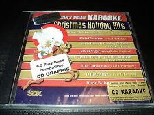 "CD NEUF ""KARAOKE : CHRISTMAS HOLIDAY HITS"" Mariah CAREY, Barbra STREISAND, ..."