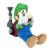 """Luigi's Mansion 2 Luigi Super Mario Bros Plush Toy Stuffed Animal with Vacuum 7"""""""