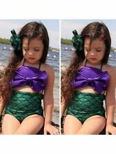 Unbranded Cotton Blend Mermaid (2-16 Years) for Girls