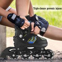 Adjustable Inline Skates Roller Blades Adult or Kid Breathable Outdoor Sport~