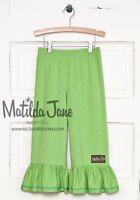 NEW Girls MATILDA JANE Hello Lovely Grassy Hill Big Ruffles Pants size 2 4 NWT