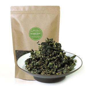 GOARTEA 250g Premium Jiaogulan Gynostemma Pentaphyllum Tea Herbal Flower Green