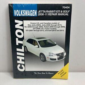 Chilton Volkswagen Jetta Rabbit GTI Golf 2006 - 11 Repair Manual 70404 Fix It
