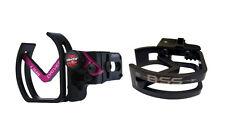 Vaportrail Limb Driver Pro V Arrow Rest, RH Black with Pink Arm and BSS Logo