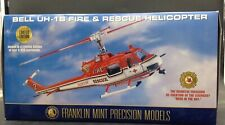 FRANKLIN MINT BELL HELICOPTER HU-1B FIRE & RESCUE 1/48 rare Hero in the Sky