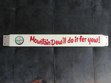 Door push bar Mountain Dew Retro Antique Soda Advertising sign