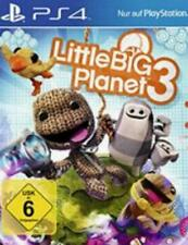 PLAYSTATION 4 Little Big Planet 3 completa tedesco OVP TOP Condizione