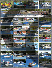 GREENVILLE SEAPLANE FLY-IN 2019 AIRCRAFT POSTER AVIATION FLYING EVENT SEAPLANE