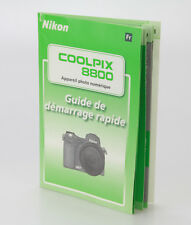 Nikon Coolpix 8800 Guide de démarage rapide  en Français (Réf#D-57)