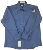 Bulwark Flame Resistant Shirts Nomex 4.5 oz. Lightweight Button Front Uniform