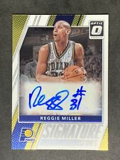 2017-18 Donruss Optic Signature Series #54 Reggie Miller PACERS AUTO Autograph
