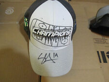 North Dakota Fighting Hawks SHANE GERSICH Signed National Champs Hat SIOUX