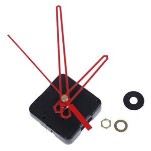 Quartz Wall Clock Movement Mechanism DIY Repair Part Kit Gold Long Shaft_kzFEH