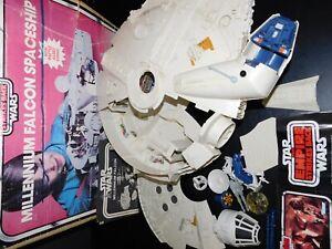 VTG~1977~1980~1981~1982~Kenner~Star~Wars~Millennium~Falcon~ESB~ship~vehicle~lot~