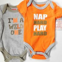 Duck Commander WORK HARD NAP HARD Toddler Baby One Piece Red NWT