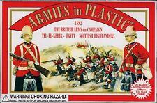 ARMIES IN PLASTIC 5416 BRITISH ARMY SCOTTISH HIGHLANDERS 20 Unpainted Figures