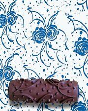 Roses et rubans À faire soi-même Motif Peinture Rouleau 15 cm mur Texture Décoration Pochoir