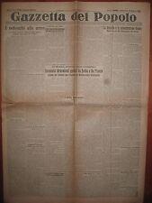GAZZETTA DEL POPOLO  20/5/1928  la crociera di Balbo e De Pineno