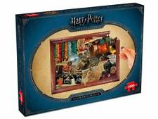 NEW Winning Moves Jigsaw Puzzles Deluxe 1000 Piece Harry Potter HOGWARTS scenes