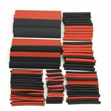 150* Red Black 1-14mm 2:1 Ratio Heat Shrink Tubing Tube Sleeving Wire Wrap Kit