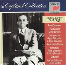Aaron Copland: Early Orchestral Works, 1922-1935 2 CD Set USED Free Shipping
