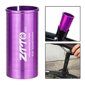 Seatpost Shim Reducing Sleeve Converter Adapter for Mountain Road Bike BMX