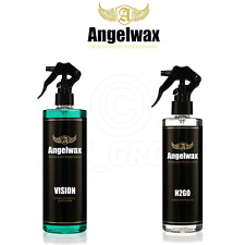 Angelwax Angel Wax Transparente Cristal Kit de Limpieza