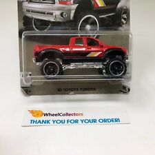 BAD CARD * '10 Toyota Tundra * RED * Hot Wheels Truck Series * R25