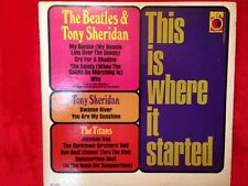 "Beatles & Tony Sheridan ""This is Where it Started""  LP  Metro M-563 Mono  US EX+"